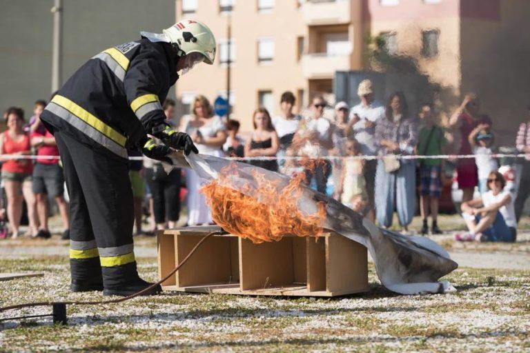 Ismét tűzmegelőző bemutatókra készülnek Székesfehérváron